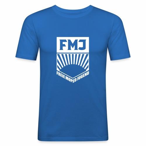 Freie Moped Jugend FDJ Parodie (1c) - Men's Slim Fit T-Shirt