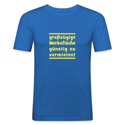 werbeflaeche - Männer Slim Fit T-Shirt