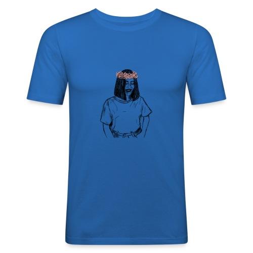 ALYSIAN OUTLINE - Maglietta aderente da uomo
