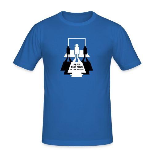 The Man in the Middle - Men's Slim Fit T-Shirt