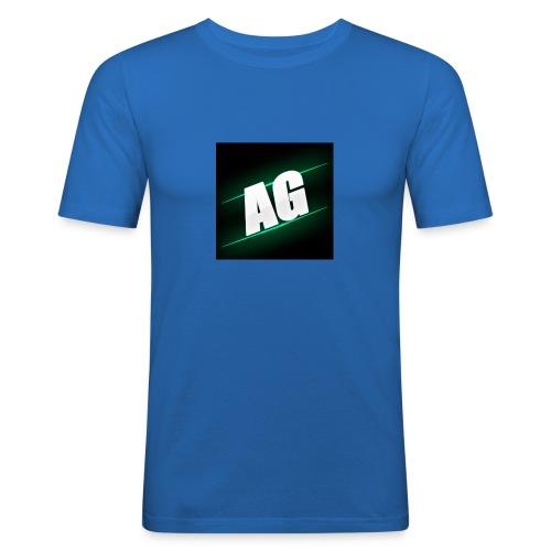 AldizGamez 4/4s Case - Mannen slim fit T-shirt