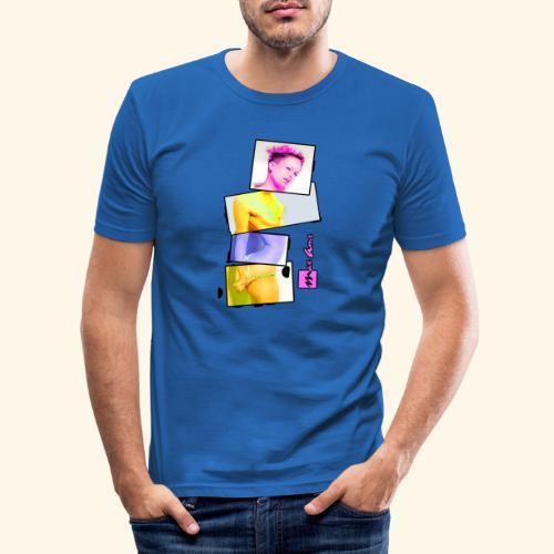 Untitled 3 explose - T-shirt près du corps Homme