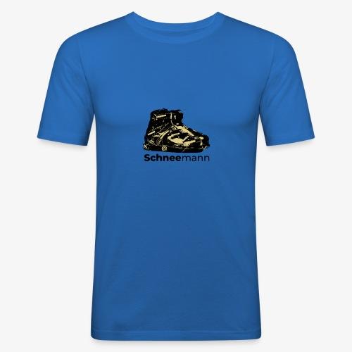 Schneemann - Männer Slim Fit T-Shirt