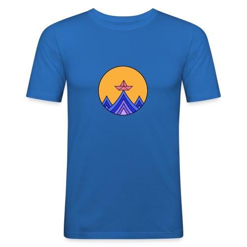 papierboot2 - Männer Slim Fit T-Shirt