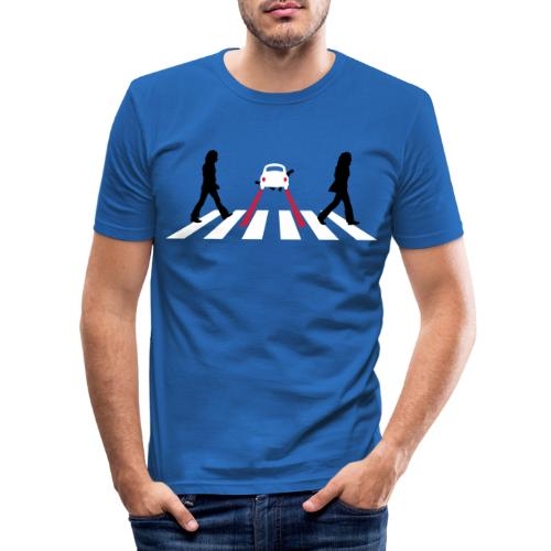 abbeyroadkill - Mannen slim fit T-shirt