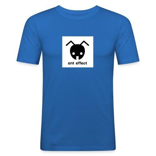 ant effect logo - Männer Slim Fit T-Shirt