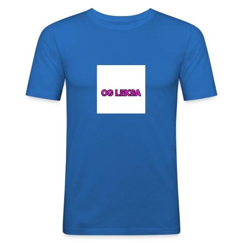 Miesten Huppari OG Leksa - Miesten tyköistuva t-paita