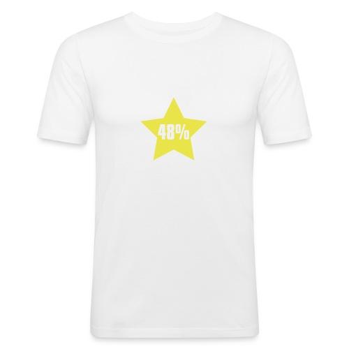 48% in Star - Men's Slim Fit T-Shirt