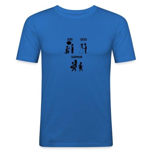 4 - Maglietta aderente da uomo