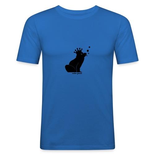 Walter Frosch (Shirt klass.) - Männer Slim Fit T-Shirt