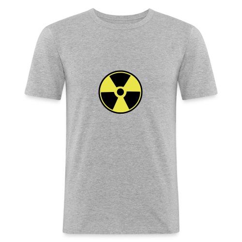 Nuclear sign - Miesten tyköistuva t-paita