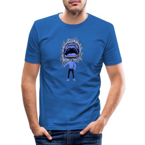 The dancing mouth - T-shirt près du corps Homme