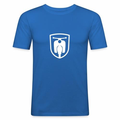 Moped Schwalbe Wappen - Men's Slim Fit T-Shirt