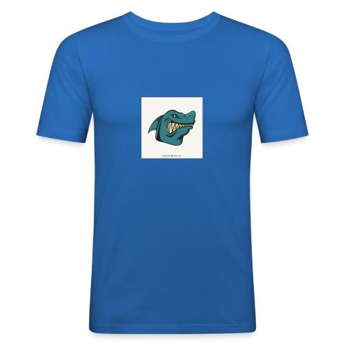 requin mascotte weelax - T-shirt près du corps Homme