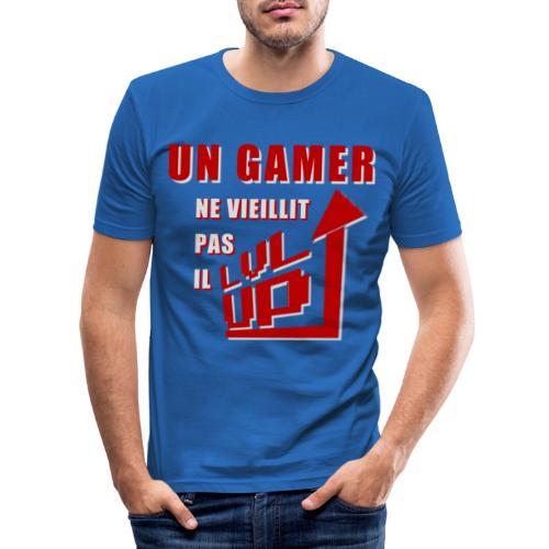 Jeune Gamer - T-shirt près du corps Homme
