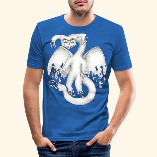 Spökdrake - Slim Fit T-shirt herr