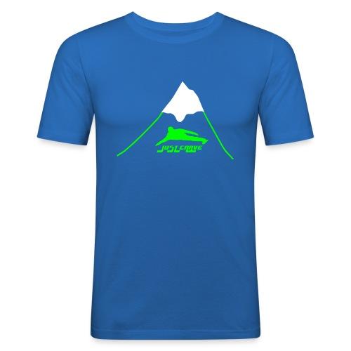 Bergspitze - Männer Slim Fit T-Shirt