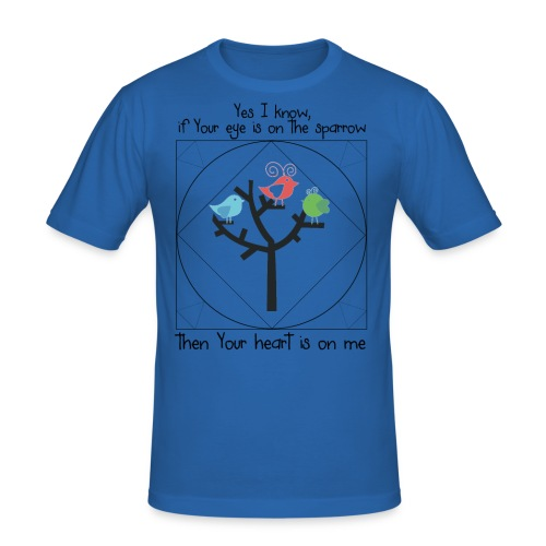 prayklein - Männer Slim Fit T-Shirt