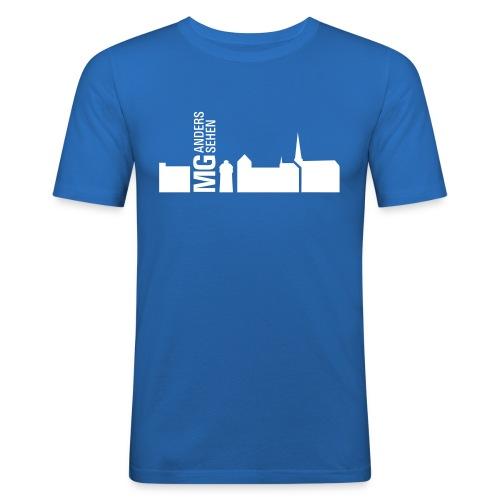 karte - Männer Slim Fit T-Shirt