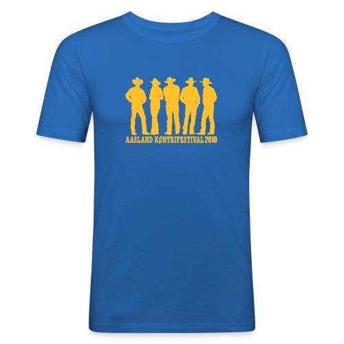 akf tshirt 2010 - Slim Fit T-skjorte for menn