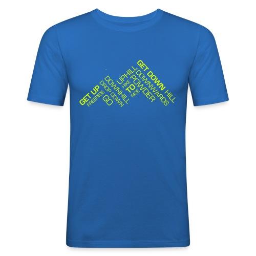 GETDOWN_MOUNTAIN_5 - Männer Slim Fit T-Shirt