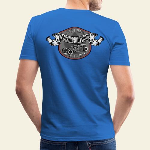 rod logo - Herre Slim Fit T-Shirt