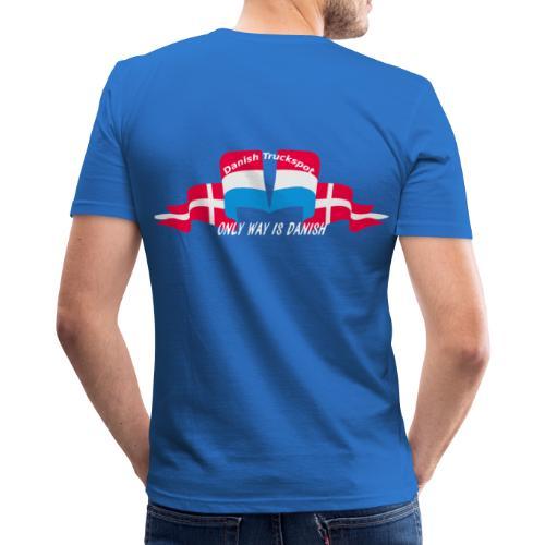 Danish Truckspot (sorte trøjer - Herre Slim Fit T-Shirt