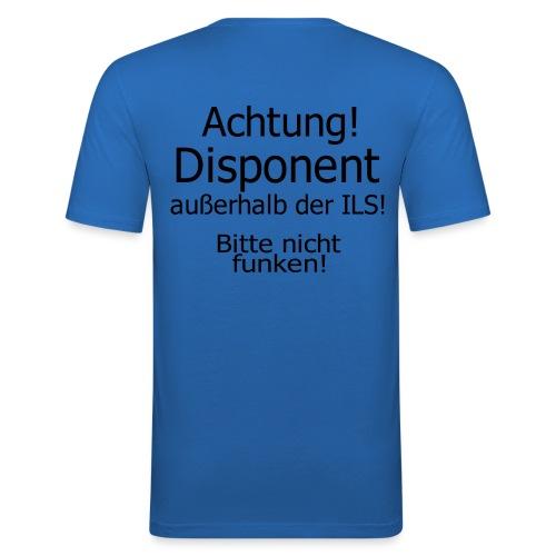 Bitte nicht Funken - Männer Slim Fit T-Shirt