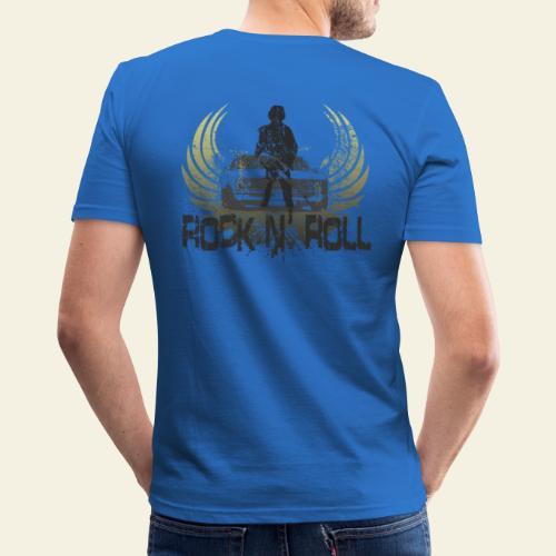 rock n roll camaro - Herre Slim Fit T-Shirt