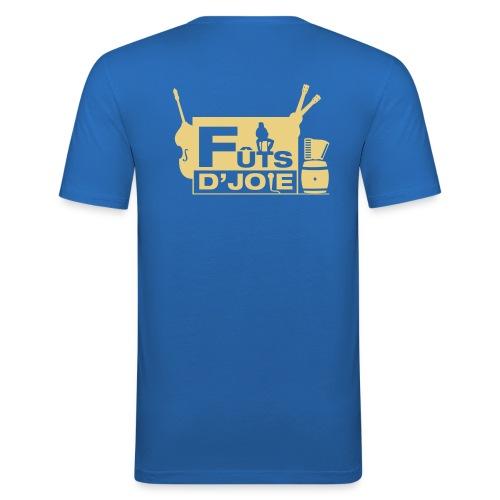 Logo Futs D Joie - T-shirt près du corps Homme