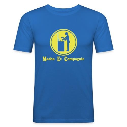 Macho Et Compagnie à la vaisselle - T-shirt près du corps Homme