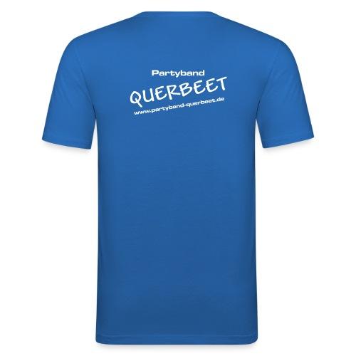 Querbeet new white - Männer Slim Fit T-Shirt