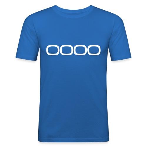 OOOO 1 - Männer Slim Fit T-Shirt