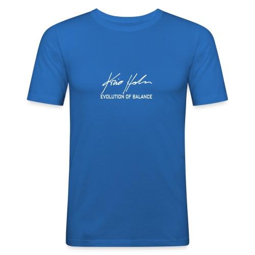 Kris Holm logo (vector) - Men's Slim Fit T-Shirt