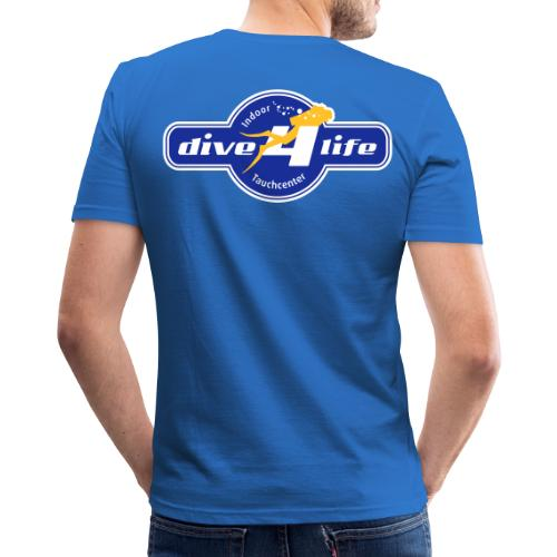 dive4life Team - Männer Slim Fit T-Shirt