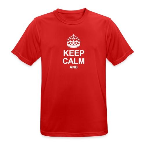 KEEP CALM - Men's Breathable T-Shirt