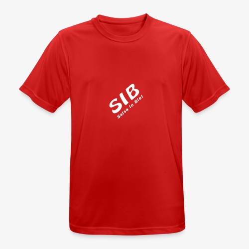 Tanzschule SIB / Salsa In Biel - Männer T-Shirt atmungsaktiv