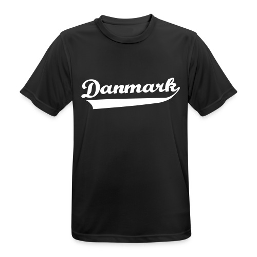 Danmark Swish - Herre T-shirt svedtransporterende