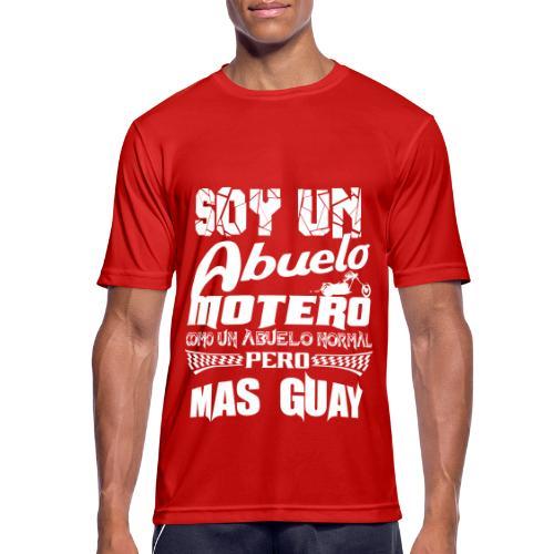 Soy un abuelo motero - Camiseta hombre transpirable