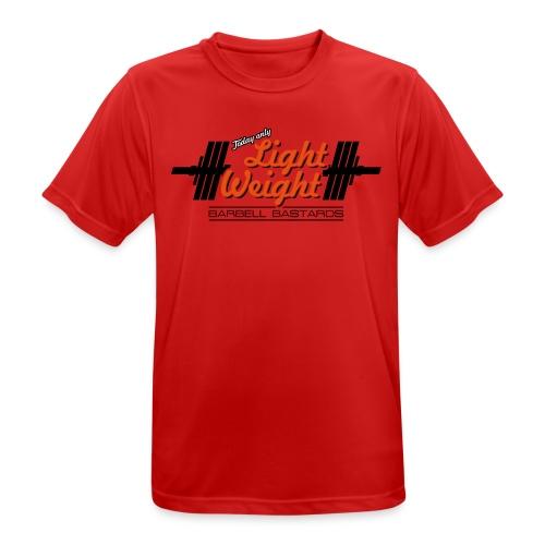 BarbellBastards Light Weight - Männer T-Shirt atmungsaktiv