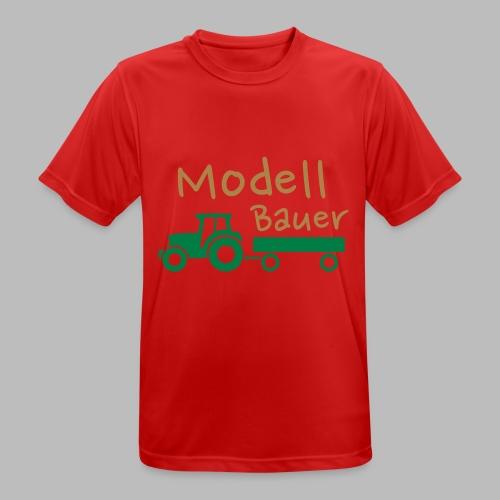 Modellbauer - Modell Bauer - Männer T-Shirt atmungsaktiv