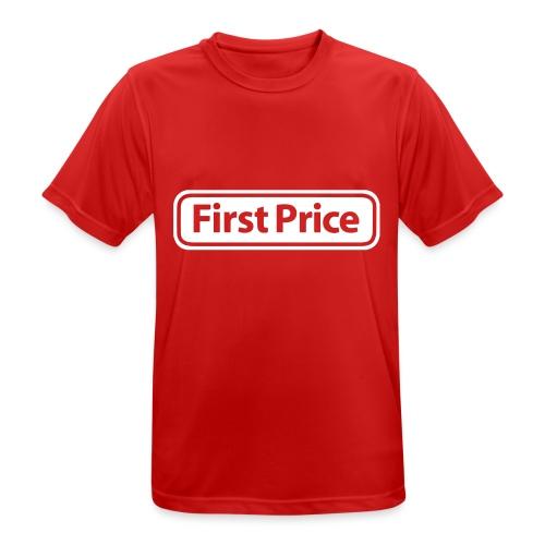 First Price - Pustende T-skjorte for menn