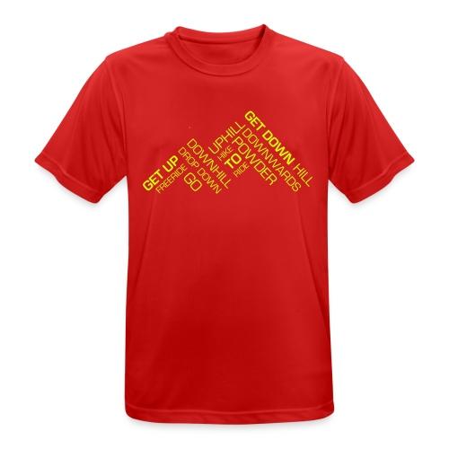 GETDOWN_MOUNTAIN_5 - Männer T-Shirt atmungsaktiv