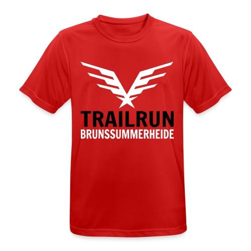 Vectorlogo Trailrun Bruns - Mannen T-shirt ademend actief