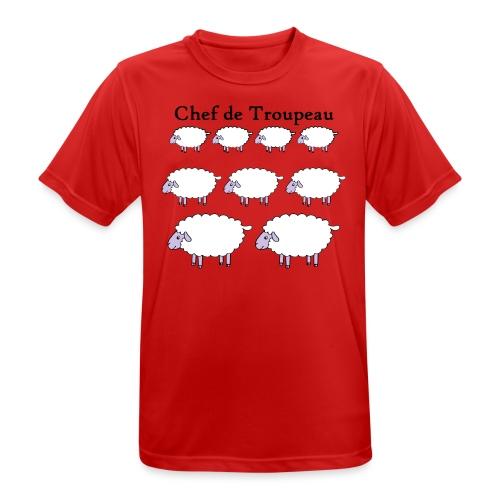 chef-de-troupeau - T-shirt respirant Homme