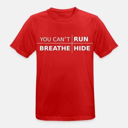 youcant+ vektor - Andningsaktiv T-shirt herr