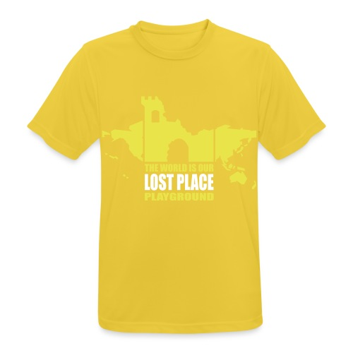 Lost Place - 2colors - 2011 - Männer T-Shirt atmungsaktiv