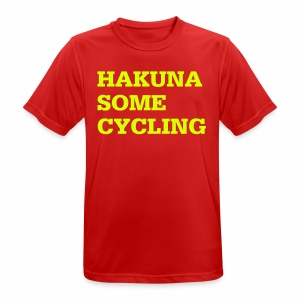 Hakuna some cycling - Männer T-Shirt atmungsaktiv