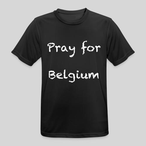 Pray for Belgium - T-shirt respirant Homme