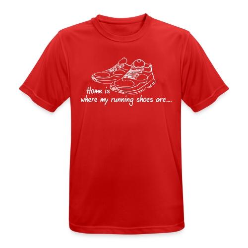 Running Shoes - Männer T-Shirt atmungsaktiv